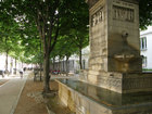 Paris: Chestnut Avenue near Luxembourg gardens