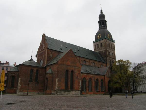Dome cathedral in Riga