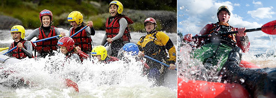 Rafting in Trysil