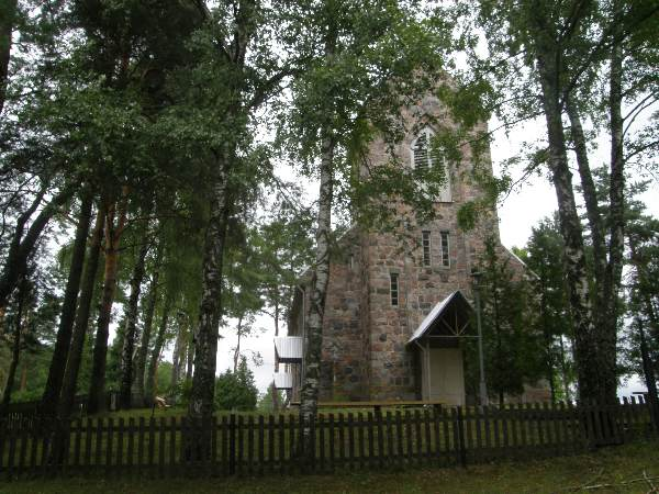 Stirniai church, Lananoras regional park
